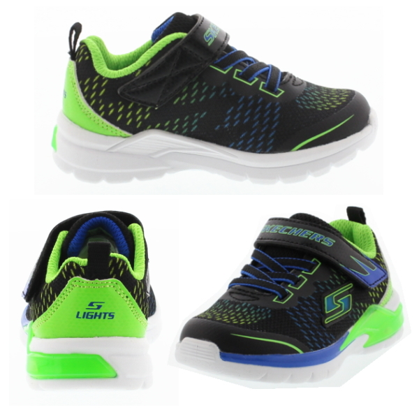 Nice Cool Design And Colorful Lighting Skechers S Lights Lava Arc Shoes Erupters Ii Series Almost One Piece Was Accented With Sch Overlay Pattern