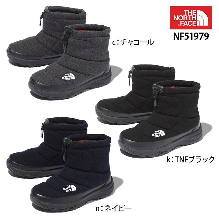 ザ・ノースフェイス ヌプシブーティーウールVショート Nuptse Bootie Wool V Short THE NORTH FACE NF51979 ユニセックス ブーツ
