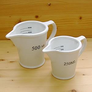 【計量カップ 500ml ピッチャー キッチン用品 おしゃれ 陶器 CH05-K212】 ダルトン(DULTON) セラミック メジャーリング ジャグ 500ML