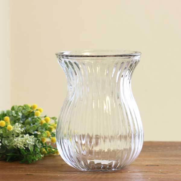 花瓶 ガラス フラワーベース おしゃれ インテリア 新色 ナチュラル カフェ 雑貨 22333 北欧 人気の定番