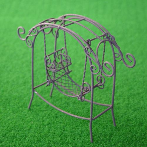 まるで妖精たちの遊び場のようなジオラマガーデン ランキングTOP5 リトルガーデン ガーデンハンモック LG-005 アイテム勢ぞろい オーナメント ジオラマ ガーデニング ミニチュア