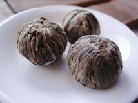 本物 上等 茉莉仙桃 3個 お試しサイズ 中国工藝茶 水中花 メール便OK