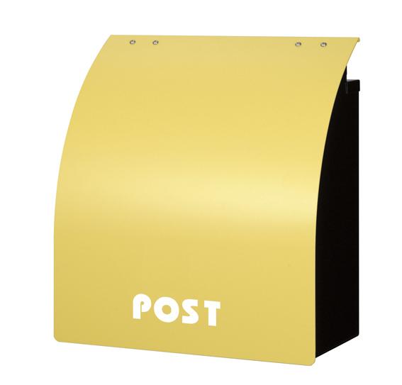 ポスト 名入れ無しタイプ カラフルポスト ポップカラー  メールボックス 郵便ポスト 郵便受け