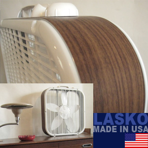 ラスコボックスファン BOXFAN LASKO 3733 wood grain special version