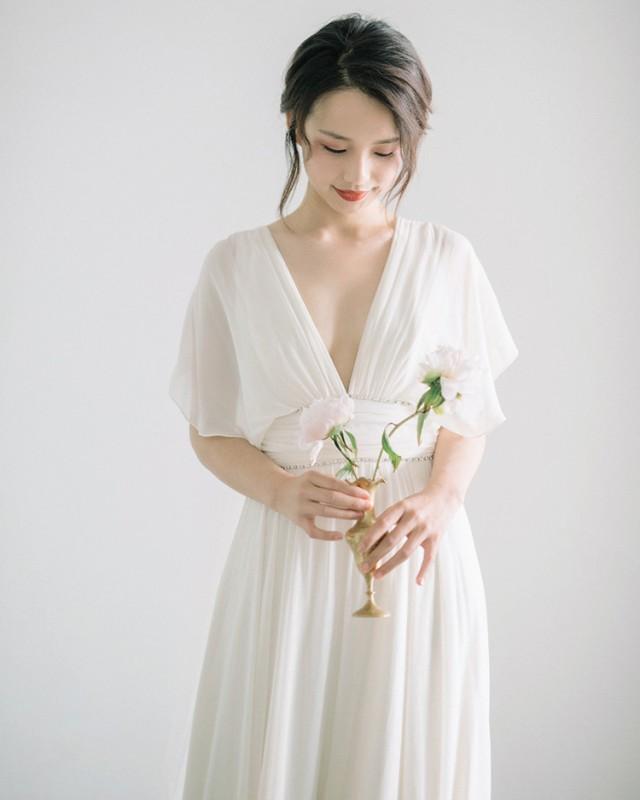 楽天市場 ウェディングドレス マタニティ 袖あり 大きいサイズ