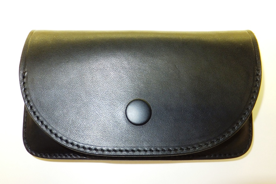 Leather field SEFIA オイルドレザーベルトオン スマートフォンケース 横型