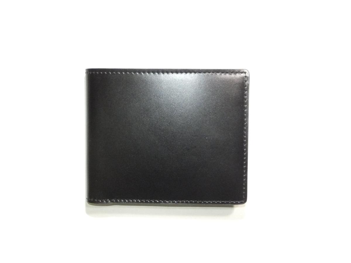 コードバン二つ折り財布 【日本製】送料無料 ギフトラッピング無料