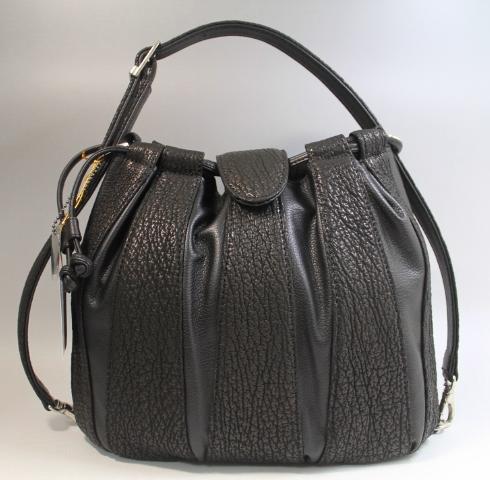 シャークバッグ レディース ハンドバッグ 冠婚葬祭 鮫革 フォーマル バッグ JRA認定 日本製 ブラック