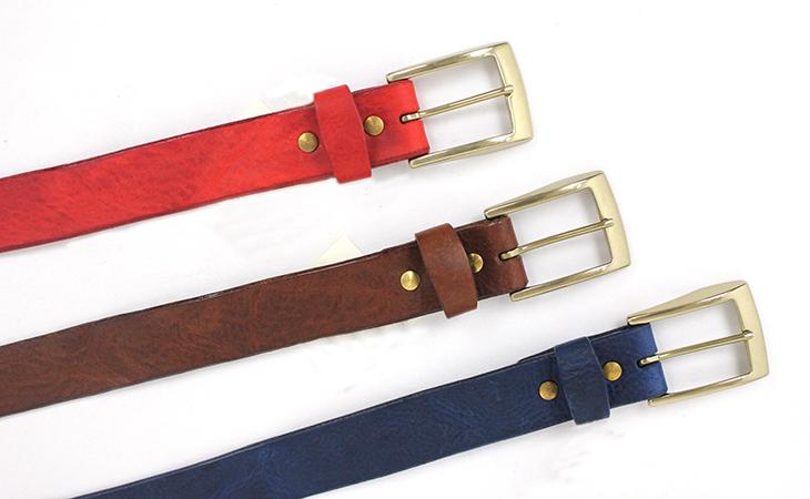 国産 牛皮 イタリアンレザー belt ブラウン 焦げ茶 MENS 日本製 ZOO メンズ ベルト 本皮 アメカジ 紺 バックル ネイビー シンプル 本革 牛革 紳士ベルト 赤 35mm幅