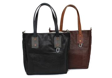 【トートバッグ】独特のシワ・シボが特徴的な牛革トートバッグ(牛革/日本製)