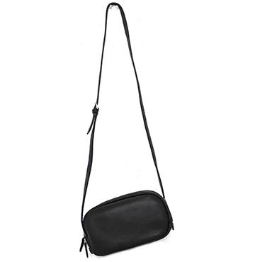 【ショルダーバッグ】コンパクトなサイズ感!レザーショルダーポシェット(牛革/日本製/VIA DOAN)