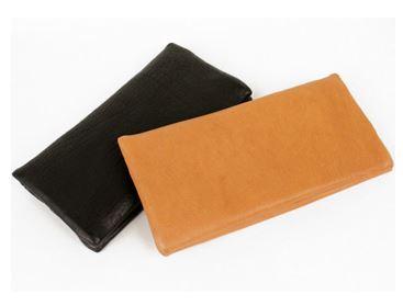【長財布】なめらかな質感が虜にする長財布 落下防止ベルト付(鹿革/日本製)