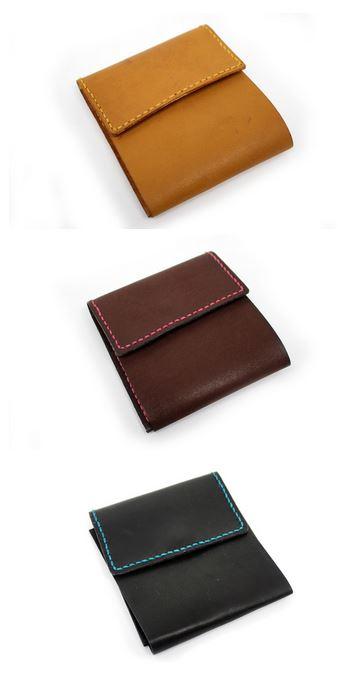【二つ折り財布】旅行シーンで活躍すること請け合い! トラベルウォレット(牛革/日本製)