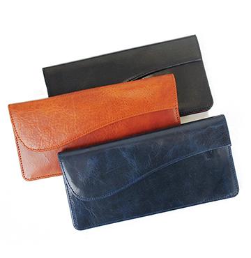 【長財布】薄さ1.5cm!スマートに使える長財布(牛革/日本製)