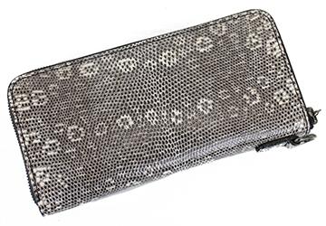 リザード 誕生日 日本製 ZOO リングマーク 縁起物 ギフト ラウンドファスナー 長財布 メンズ 贈り物 トカゲ革 ユニセックス プレゼント 札入れ レディース 風水 国産