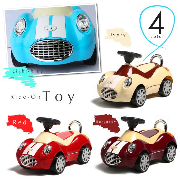 乗用玩具 足けり おもちゃ 車 乗り物 四輪車 1歳 2歳 3歳 クラシックカー 子供 幼児 キッズ ペダルカー 足こぎ 誕生日 プレゼント @a610