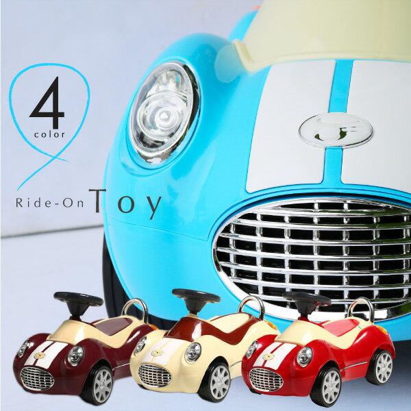 乗用玩具 足けり おもちゃ 車 乗り物 四輪車 1歳 2歳 3歳 クラシックカー 子供 幼児 キッズ ペダルカー 足こぎ 誕生日 プレゼント 送料無料 あす楽対応 @a610