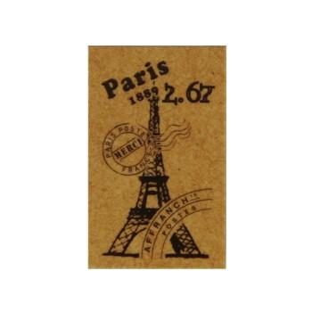 正規品 パリの蚤の市をイメージしたアンティークな雰囲気のスタンプ 蚤の市スタンプ エッフェル塔 アンティークスタンプ クラフト 新品未使用 ハンコ スタンプ レザークラフト