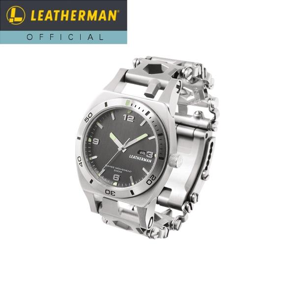 【公式】[日本正規品 25年保証] LEATHERMAN(レザーマン) TREAD TEMPO(トレッド テンポ) マルチツール 時計 ブレスレット 工具 アウトドア ミリタリー