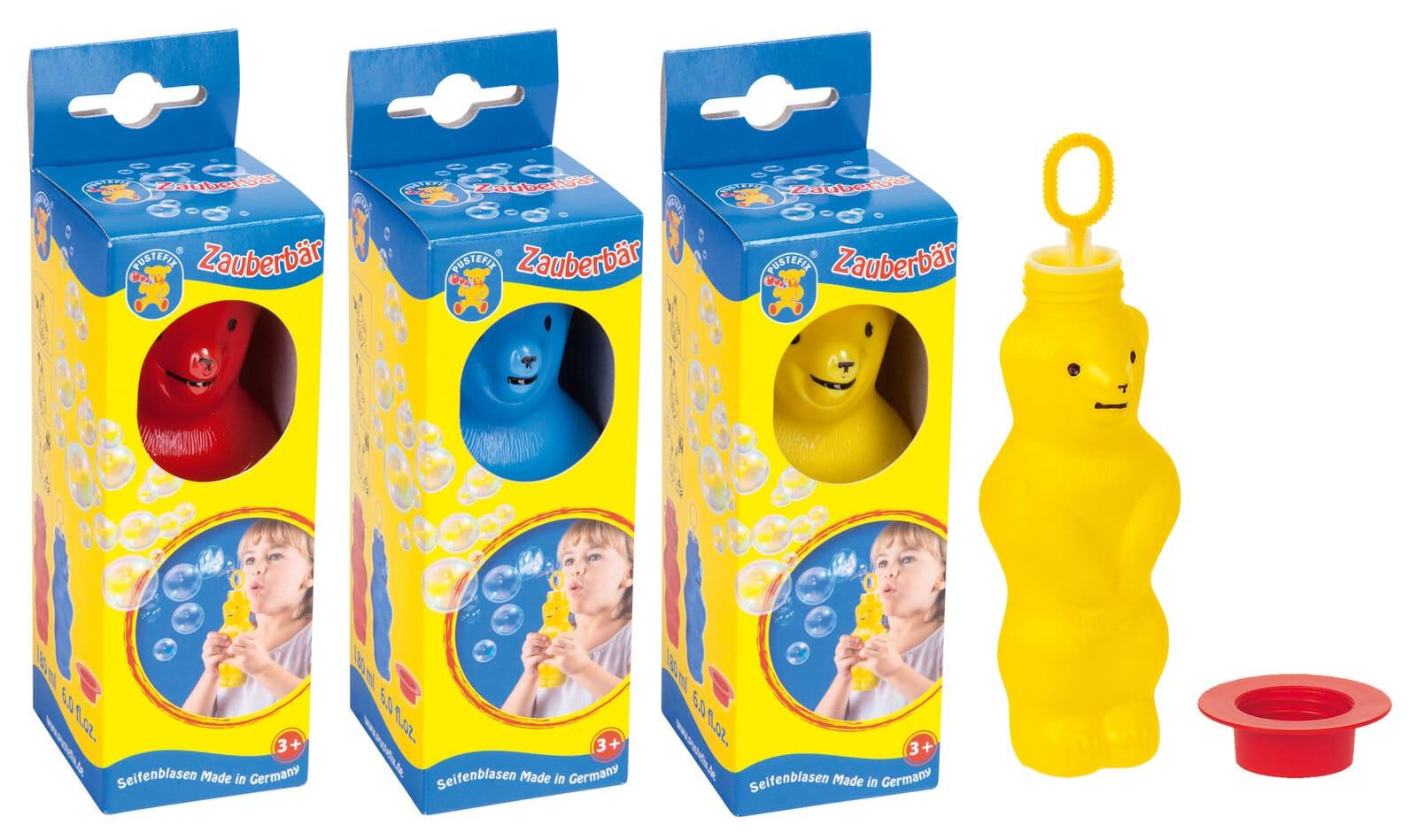 誕生日プレゼント スーパーセール 10%以上オフ 新作通販 対象3歳以上 シャボン玉 世界中のシャボン玉アーティストが使うシャボン玉 乳幼児おもちゃ セール プステフィックス クマのシャボン玉