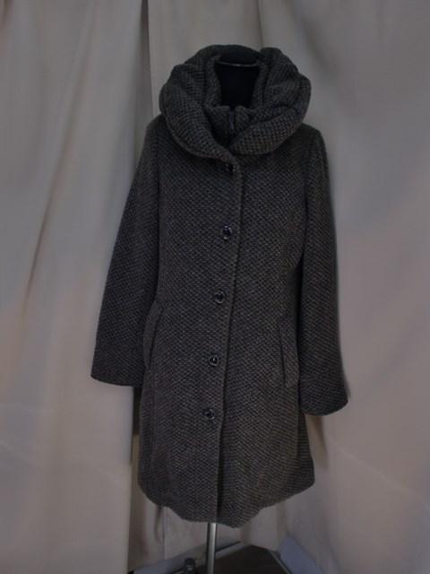 高品質 イタリア製素材ボリューム衿ツィードコート 開店記念セール アウトレット 新品 SALE