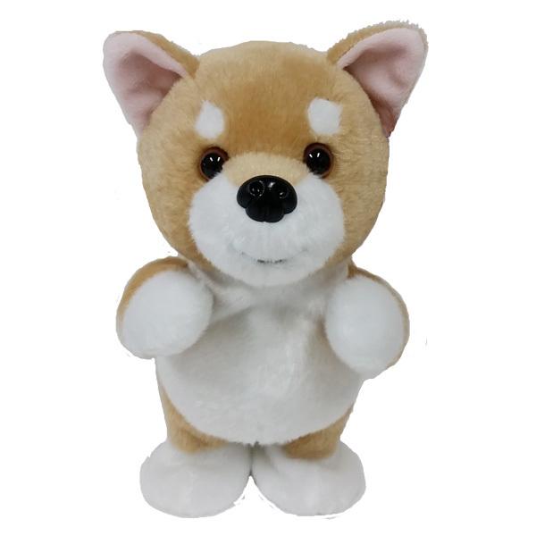 ちょこちょこ歩いて返事してくれるぬいぐるみ 柴犬(動くおもちゃ ウォーキングトーキングパピー 犬 イヌ 犬グッズ) 卒業式 プレゼント ギフト 母の日 お返し