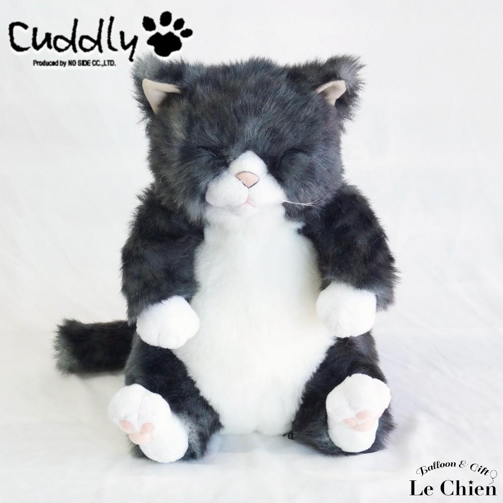 ぬいぐるみ 猫 灰トラ【ちびソメ】 cuddly カドリー ねこのぬいぐるみ リアル ぬいぐるみ ルシアン 猫グッズ