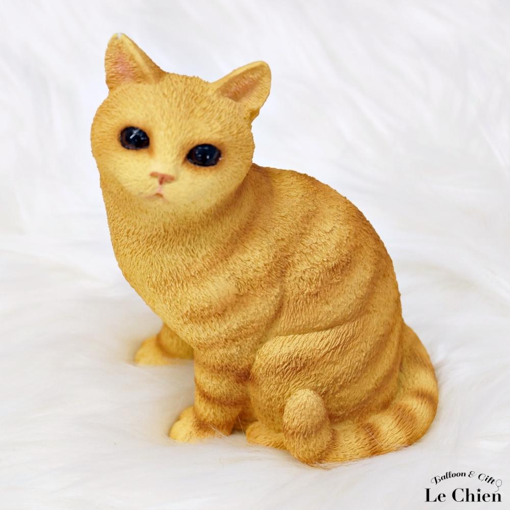 オーナー様必見☆愛猫のフィギアを探してみませんか 人気商品 プレゼントにもお勧めです 猫の置物 フィギア My Cat Collection 茶トラ チャトラ プレゼント 卒業式 ご飯ちょーだい 猫ちゃんのフィギアI お返し ブラウン ギフト 商品追加値下げ在庫復活 ルシアン