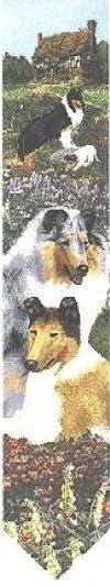 ゴブラン織り壁掛け【コリー(ブルーマール)】・ベルプル【送料無料】 インテリア  プレゼント ギフト 犬 ルシアン