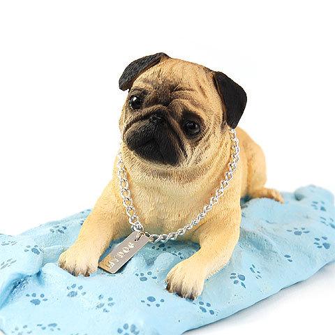 犬の置物 フィギア 【パグ(フォーン)】My Dog Collection(犬 グッズ 雑貨 動物 置物 インテリア ガーデニング) こどもの日 卒業式 プレゼント ギフト お返し ルシアン
