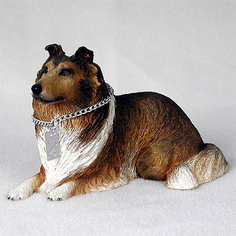 【送料無料】犬の置物 フィギア 【コリー(セーブル)】My Dog Collection(犬 グッズ 雑貨 動物 置物 インテリア ガーデニング) 卒業式 プレゼント ギフト お返し ルシアン