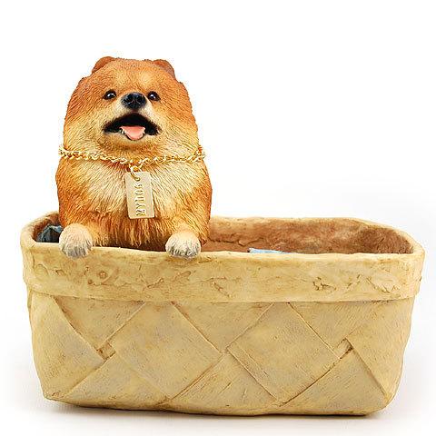 【送料無料】犬の置物 フィギア【ポメラニアン】My Dog Collection - Special Edition from USA(犬 グッズ 雑貨 動物 置物 インテリア ガーデニング) 卒業式 プレゼント ギフト お返し ルシアン