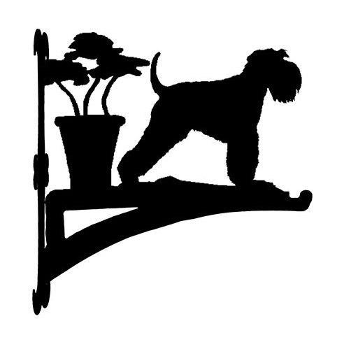 【送料無料】ハンギングバスケット シュナウザー2 From UK) (ペット用品 犬グッズ ワンちゃん わんこ グッズ アニマル 動物 プレゼント ギフト ガーデニング雑貨 通販 ) 卒業式 プレゼント ギフト お返し ルシアン