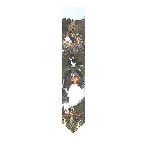 ゴブラン織り壁掛け 【シェルティー(ブルー)】・ベルプル【送料無料】 卒業式 プレゼント ギフト お返し ルシアン