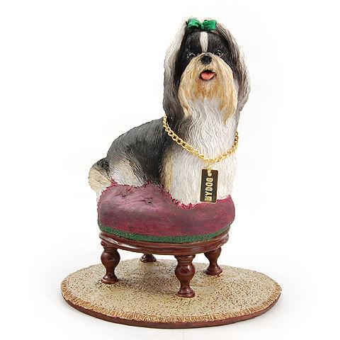 【送料無料】犬の置物 フィギア【シーズー】My Dog Collection - Special Edition from USA犬 グッズ 雑貨 動物 置物 インテリア ガーデニング プレゼント ギフト お返し ルシアン