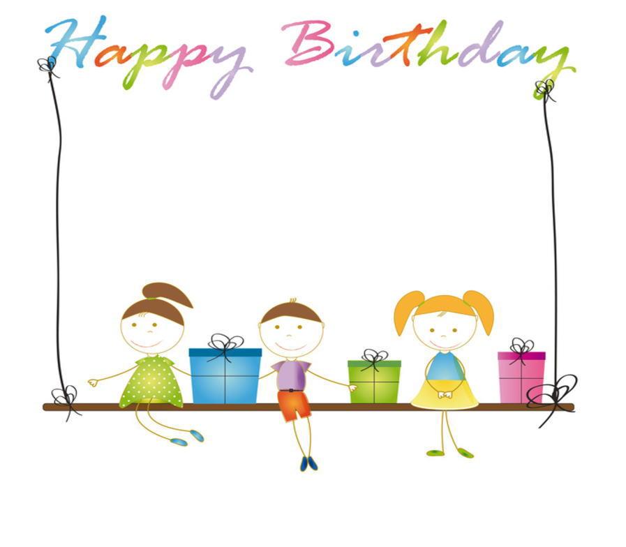 Lechien: 메세지 카드 생일 축 하 용 ' HAPPY Bithdey에서 (생일 메세지