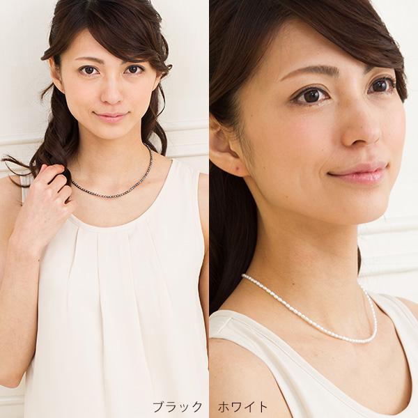 てりてり Freshwater Pearl ベビーパールネックレス pendant chain and even popular!
