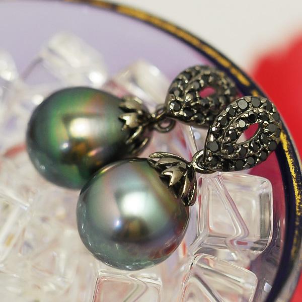 特別版 11mm 黒蝶真珠 華やかなてりの大珠パールのゴージャスな輝き スピード対応 全国送料無料 売買 ペンダントトップ