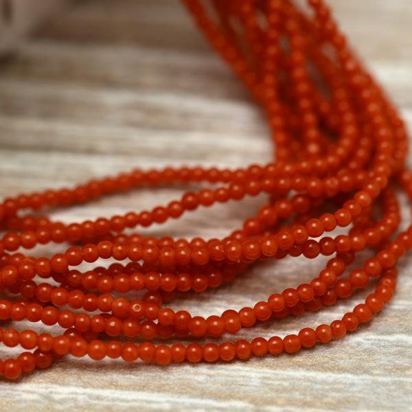 地中海産 赤珊瑚 10連 ネックレス