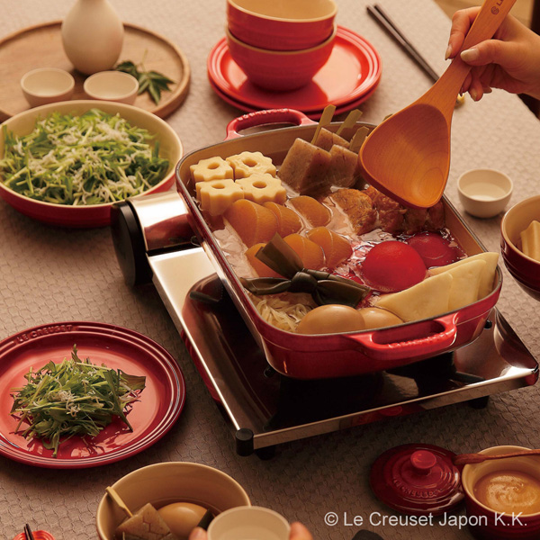 kokotto·rekutangyura 29cm ru·kuruzerukuruze LE CREUSET礼物锅铸件珐琅珐琅锅furaipankyaseroru
