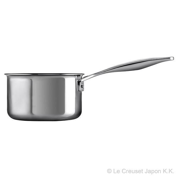 3S ミルクパン 14cm (ノンスティック)  ル・クルーゼ ルクルーゼ LE CREUSET ギフト  鍋 フライパン ステンレス IH/ガス両方対応