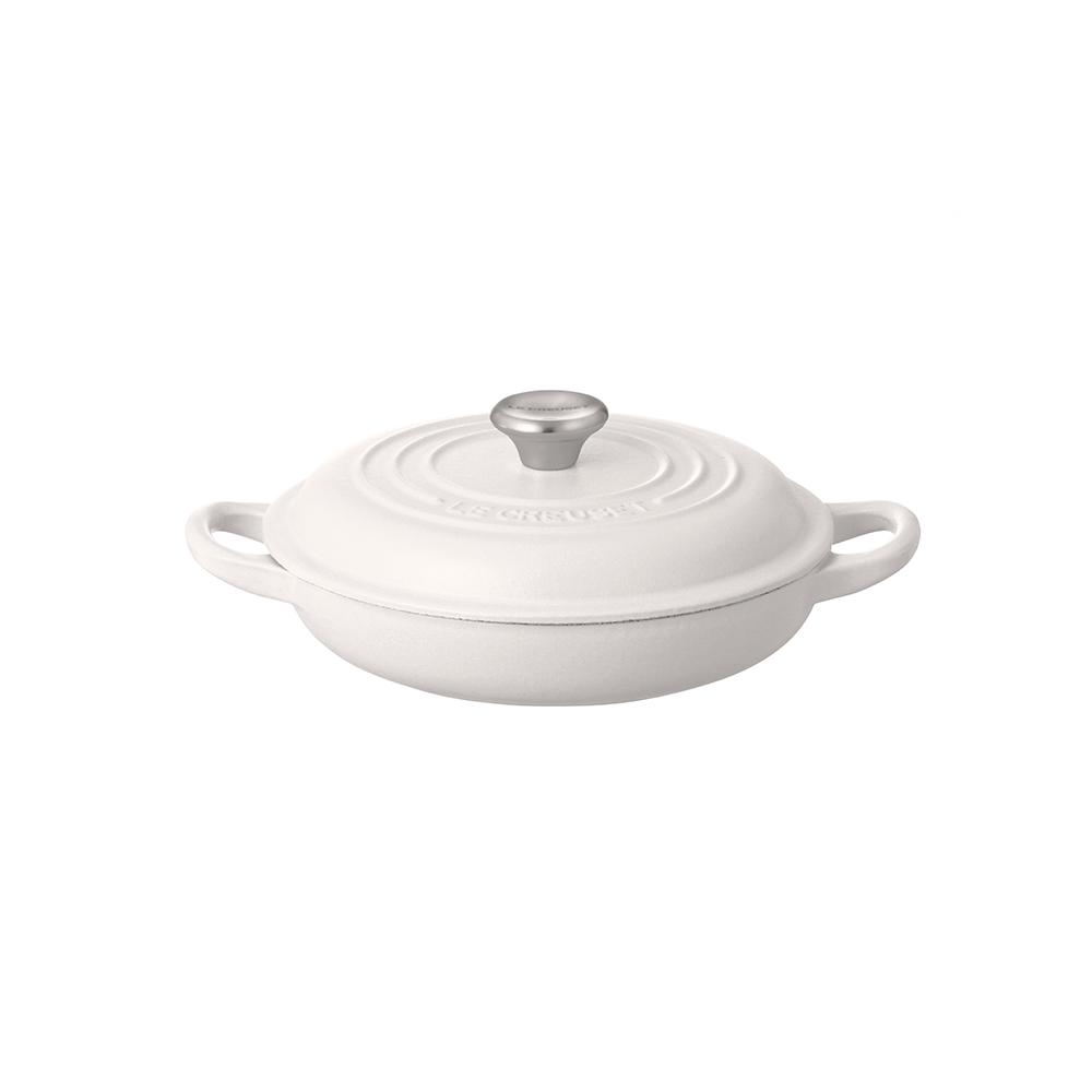 ビュッフェ・キャセロール 18cm ホワイト ル・クルーゼ ルクルーゼ LE CREUSET パン ベーカリー ホーロー鍋 鍋 送料無料