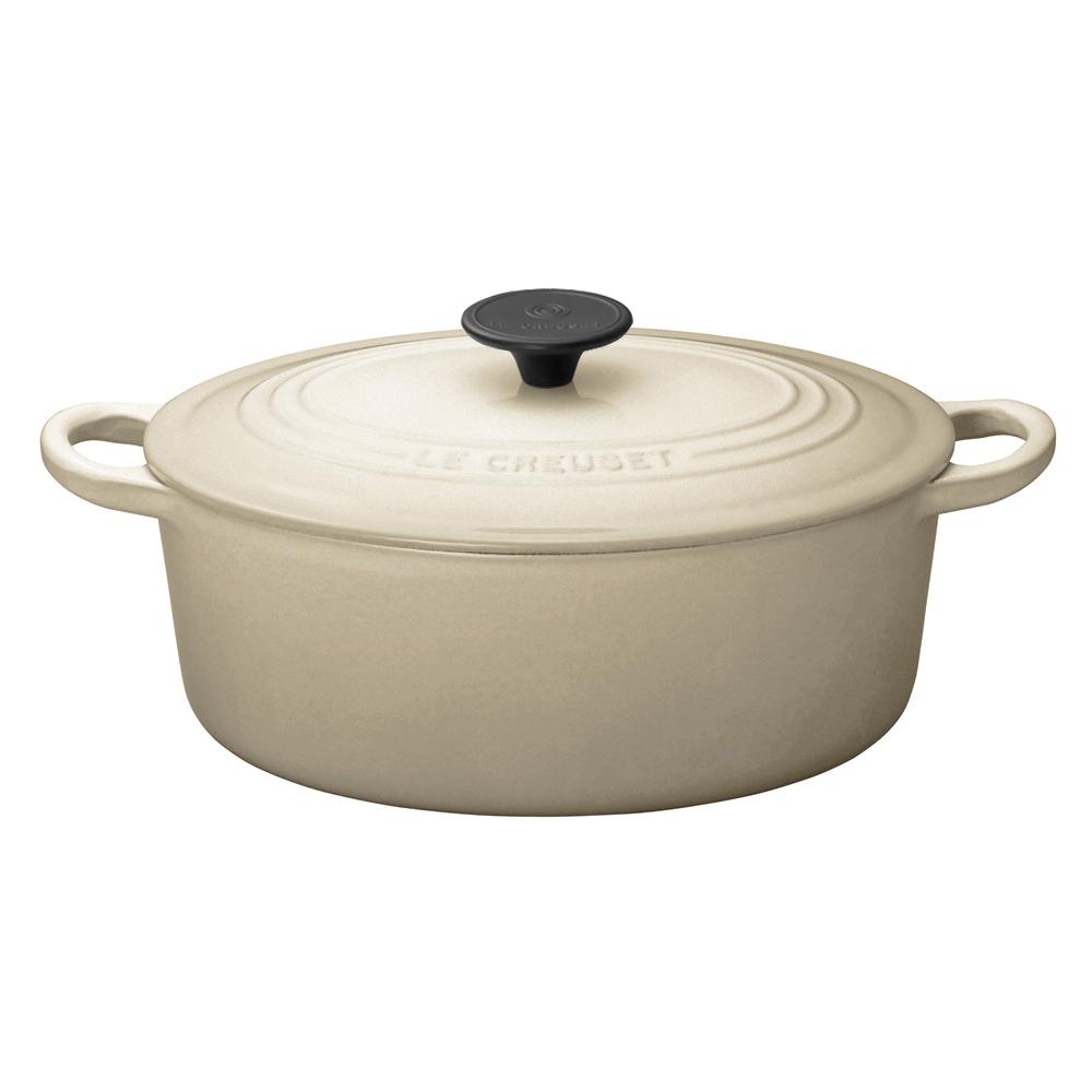ココット・オーバル 25cm デューン ル・クルーゼ ルクルーゼ LE CREUSET ギフト 送料無料 鍋 鋳物ホーロー ホーロー鍋 キャセロール