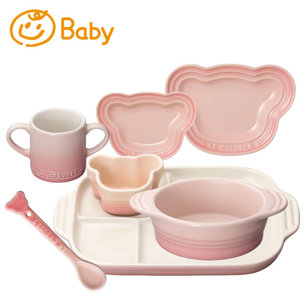 ベビー・テーブルウェア・セット ル・クルーゼ ルクルーゼ LE CREUSET ベビー Baby 出産祝い お食い初め ギフト ストーンウェア 食器 送料無料