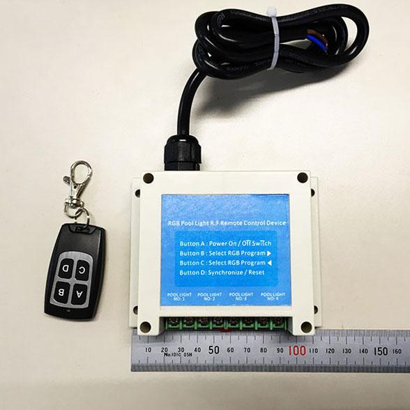 ●【送料無料】LED 水中灯 Aqua56 Par56 コントローラー 単色 白 青 緑及びRGB フルカラー色自動変化 ジャグジー プール使用向き ビームテック