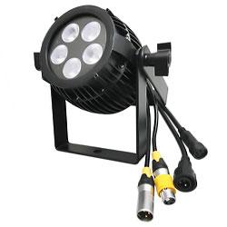 ●【送料無料】4in 1 防滴COLOR mini LED Par 消費電力40W LP0805 RGBW ビームテック