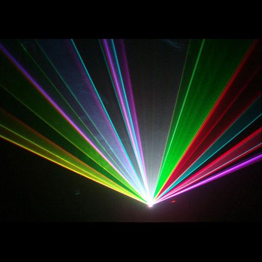 レーザープロジェクタ 5W RGB Animation Laser ILDA 対応 青 2W 赤 2.1W 緑 1W DMX対応 LZA200B130R100G ビームテック