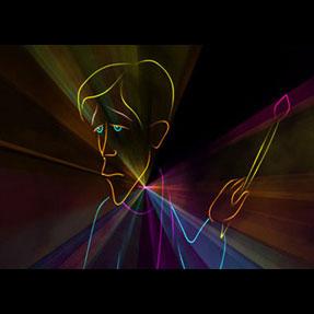 レーザープロジェクタ 1W RGB Animation Laser ILDA 対応 青 500mW 赤 500mW 緑 150mW DMX対応 ビームテック