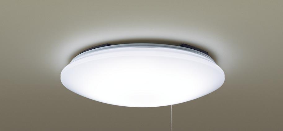 パナソニック LEDシーリングライト プルスイッチ 引っ掛けシーリング ~6畳用
