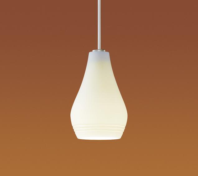 【エントリーでポイント+5倍!】[N]パナソニック LEDペンダントライト 直付けタイプ 電球色 ダイニング 小型ペンダント電球1灯相当 LEDランプ付